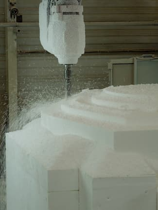 USINAGE POLYSTYRENE PSE