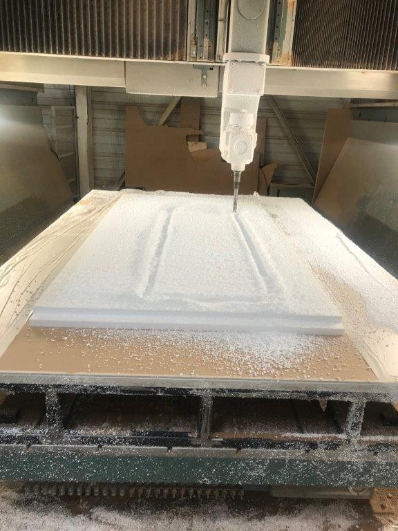 USINAGE 3D ARCHE DECO POLYSTYRENE