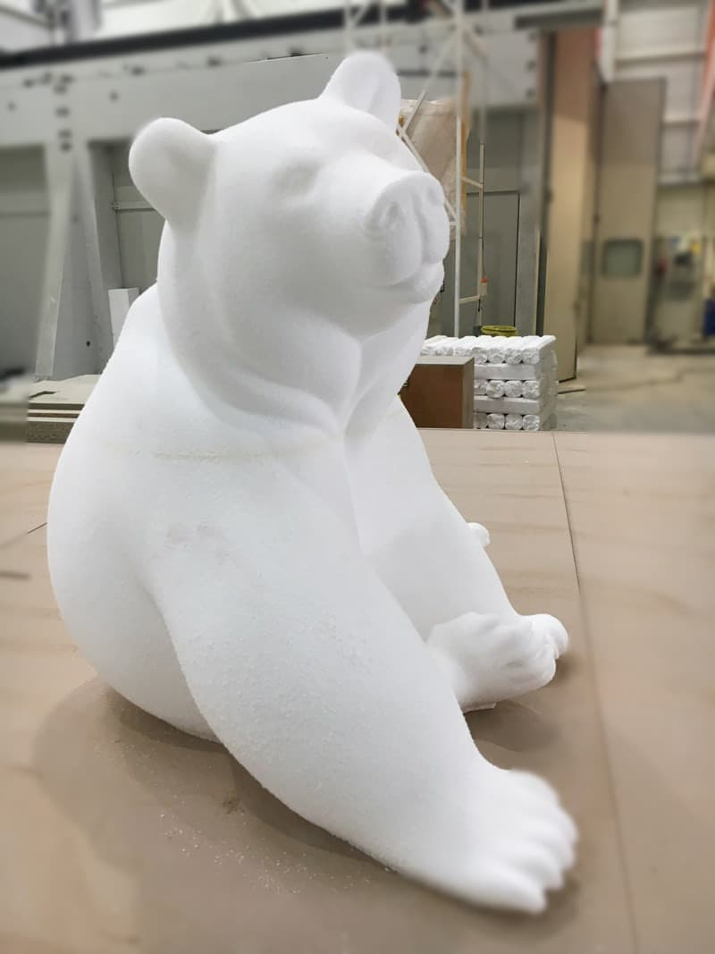 USINAGE POLYSTYRENE SCULPTURE